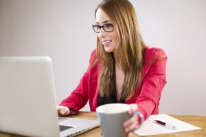 boost your career -woman at laptop